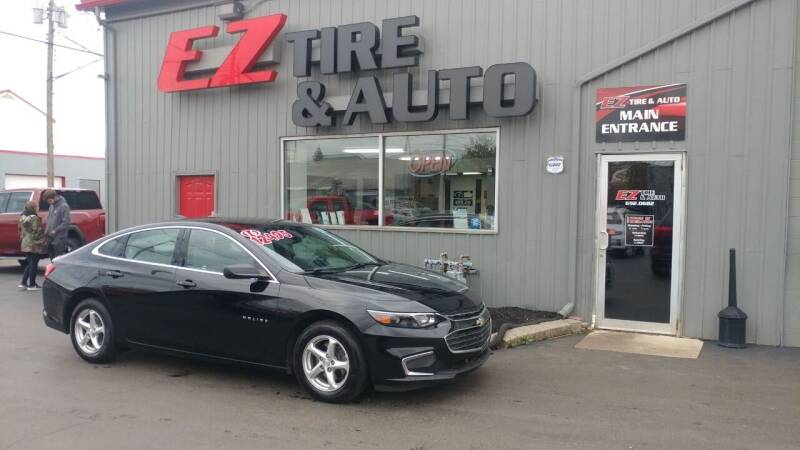 2016 Chevrolet Malibu for sale at EZ Tire & Auto in North Tonawanda NY