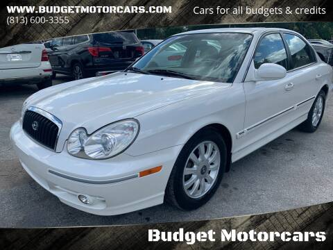 2004 Hyundai Sonata for sale at Budget Motorcars in Tampa FL