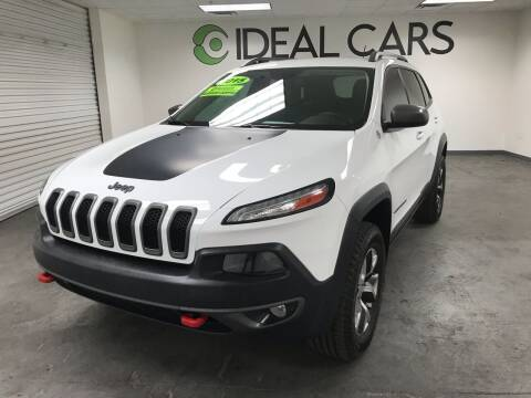 2015 Jeep Cherokee for sale at Ideal Cars Broadway in Mesa AZ