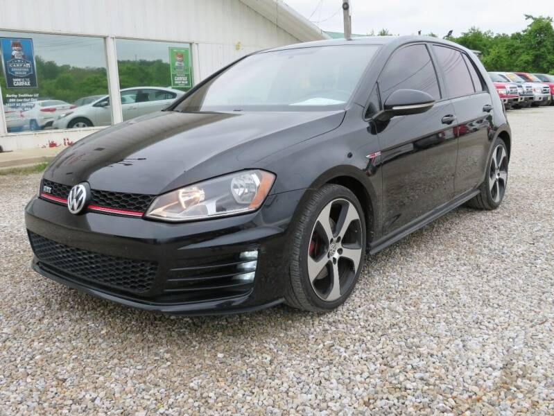 2016 Volkswagen Golf GTI for sale at Low Cost Cars in Circleville OH