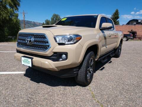 2016 Toyota Tacoma for sale at HIGH COUNTRY MOTORS in Granby CO