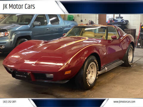 1977 Chevrolet Corvette for sale at JK Motor Cars in Pittsburgh PA