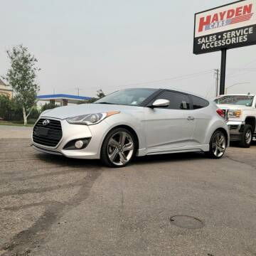 2013 Hyundai Veloster for sale at Hayden Cars in Coeur D Alene ID
