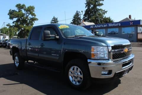 2014 Chevrolet Silverado 2500HD for sale at All American Motors in Tacoma WA