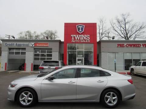 2017 Chevrolet Malibu for sale at Twins Auto Sales Inc in Detroit MI