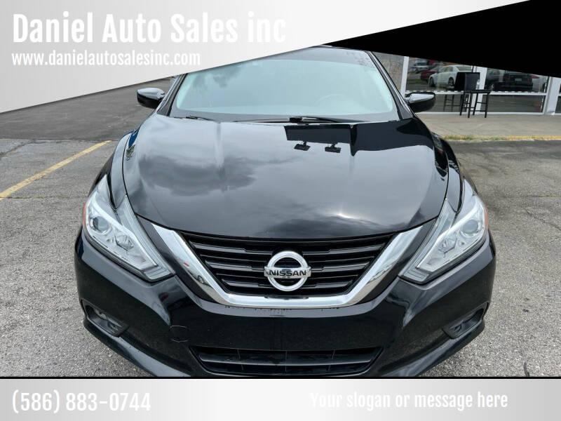 2017 Nissan Altima for sale at Daniel Auto Sales inc in Clinton Township MI