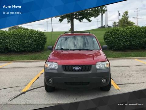 2006 Ford Escape for sale at Auto Nova in St Louis MO