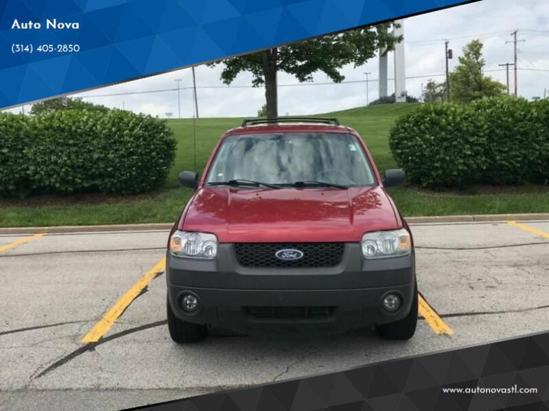 2006 Ford Escape for sale at Auto Nova in Saint Louis MO