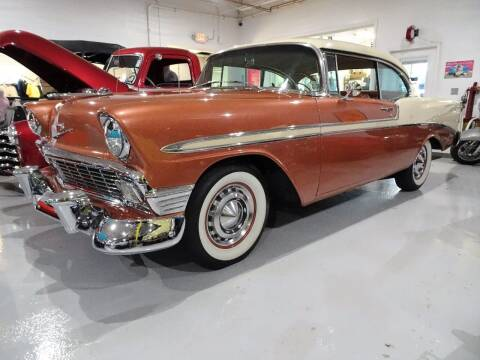 1956 Chevrolet Bel Air for sale at Great Lakes Classic Cars & Detail Shop in Hilton NY