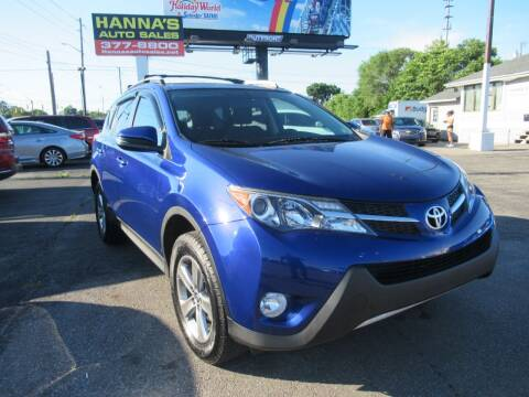 2015 Toyota RAV4 for sale at Hanna's Auto Sales in Indianapolis IN