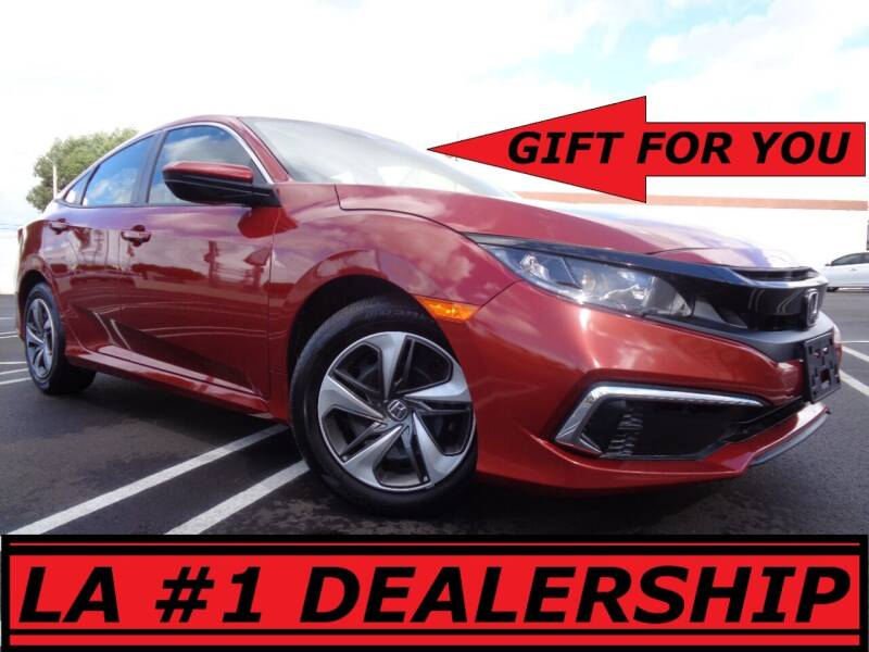 2020 Honda Civic for sale at ALL STAR TRUCKS INC in Los Angeles CA