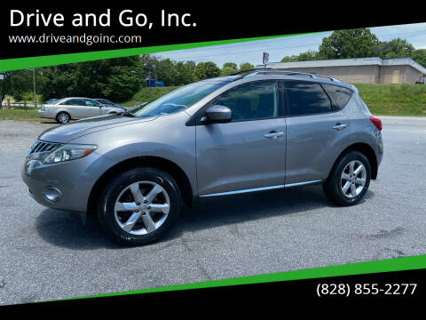 2009 Nissan Murano for sale at Drive and Go, Inc. in Hickory NC