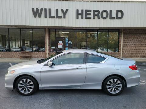 2015 Honda Accord for sale at Willy Herold Automotive in Columbus GA