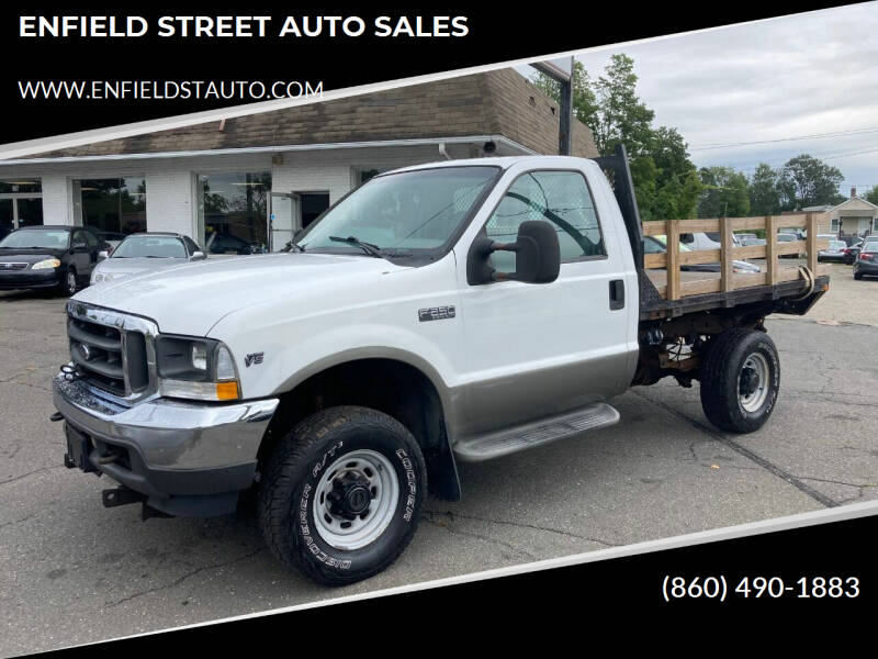 2002 Ford F-250 Super Duty for sale at ENFIELD STREET AUTO SALES in Enfield CT
