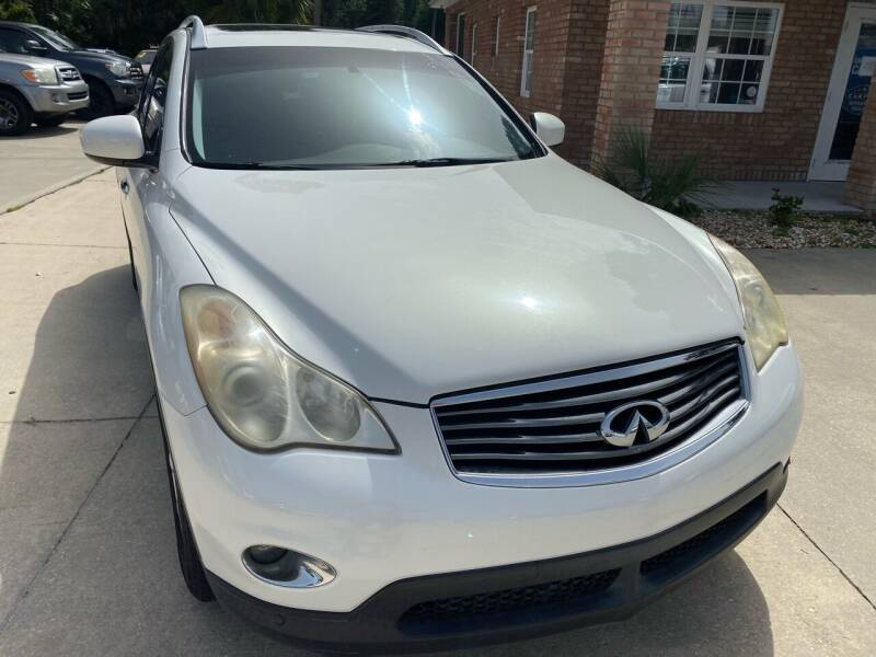 2008 Infiniti EX35 for sale at MITCHELL AUTO ACQUISITION INC. in Edgewater FL