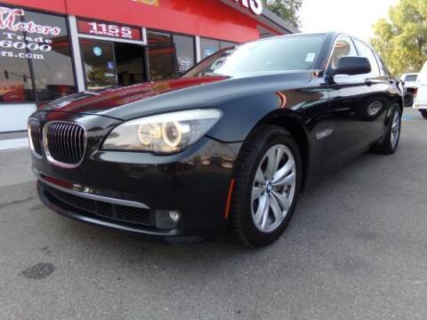 2011 BMW 7 Series for sale at Phantom Motors in Livermore CA