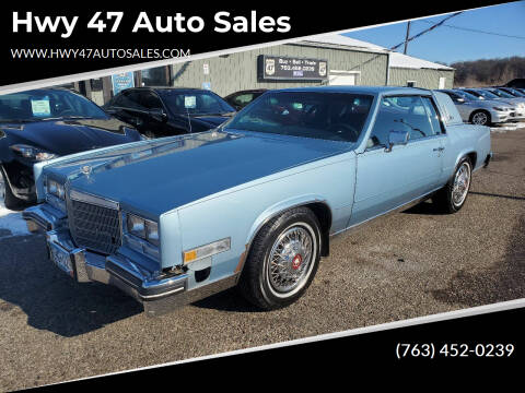 1985 Cadillac Eldorado for sale at Hwy 47 Auto Sales in Saint Francis MN