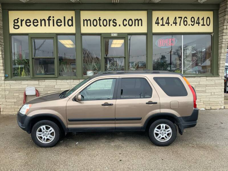 2004 Honda CR-V for sale at GREENFIELD MOTORS in Milwaukee WI
