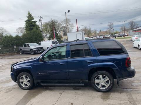 2004 Chevrolet TrailBlazer for sale at Autoplex 2 in Milwaukee WI