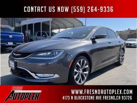 2015 Chrysler 200 for sale at Fresno Autoplex in Fresno CA