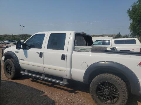 2005 Ford F-250 Super Duty for sale at PYRAMID MOTORS - Fountain Lot in Fountain CO