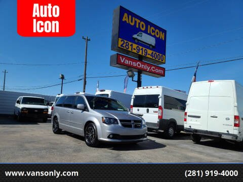 2017 Dodge Grand Caravan for sale at Auto Icon in Houston TX