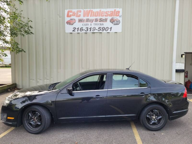 2010 Ford Fusion for sale at C & C Wholesale in Cleveland OH