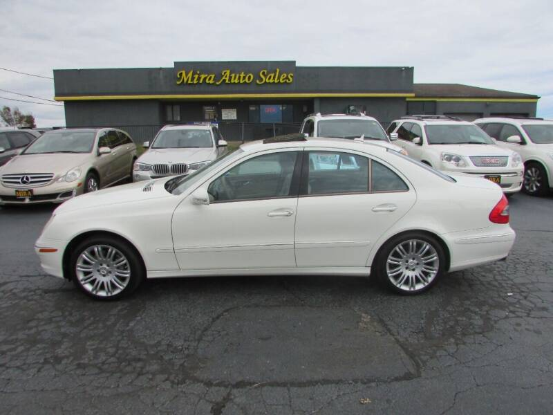 2008 Mercedes-Benz E-Class for sale at MIRA AUTO SALES in Cincinnati OH