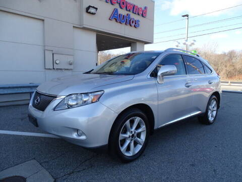 2011 Lexus RX 350 for sale at KING RICHARDS AUTO CENTER in East Providence RI