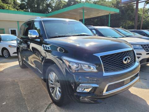 2016 Infiniti QX80 for sale at Bundy Auto Sales in Sumter SC