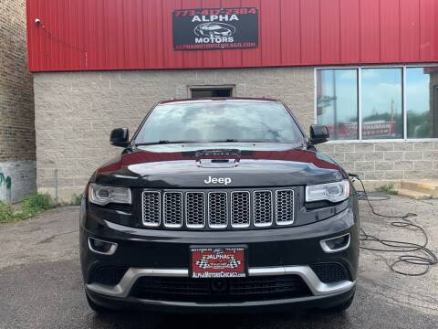 2015 Jeep Grand Cherokee for sale at Alpha Motors in Chicago IL