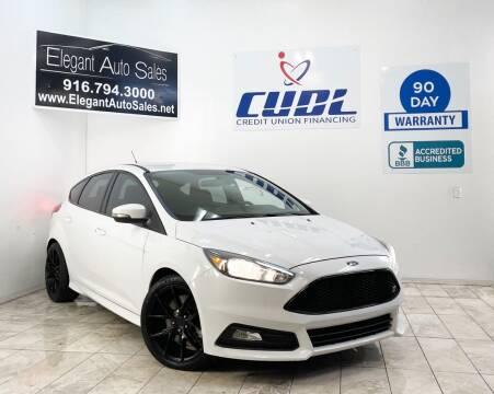 2016 Ford Focus for sale at Elegant Auto Sales in Rancho Cordova CA