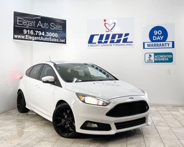 2016 Ford Focus for sale at Elegant Auto Sales in Rancho Cordova CA