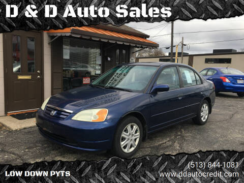 2003 Honda Civic for sale at D & D Auto Sales in Hamilton OH
