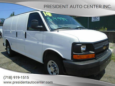 2014 Chevrolet Express Cargo for sale at President Auto Center Inc. in Brooklyn NY