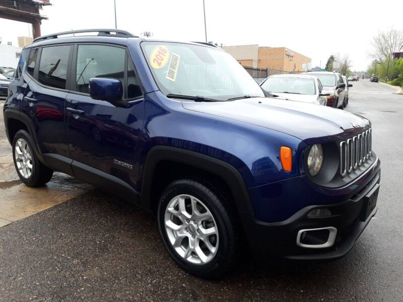 2016 Jeep Renegade for sale at Sanaa Auto Sales LLC in Denver CO