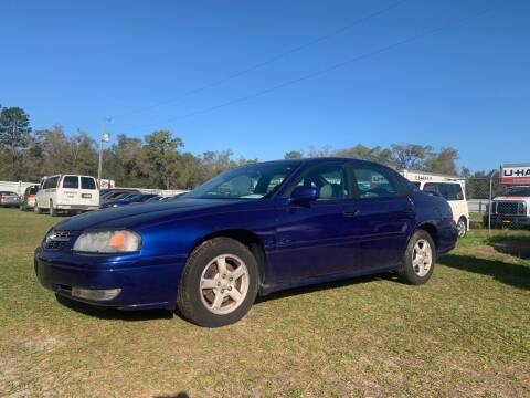 2005 Chevrolet Impala for sale at Popular Imports Auto Sales in Gainesville FL