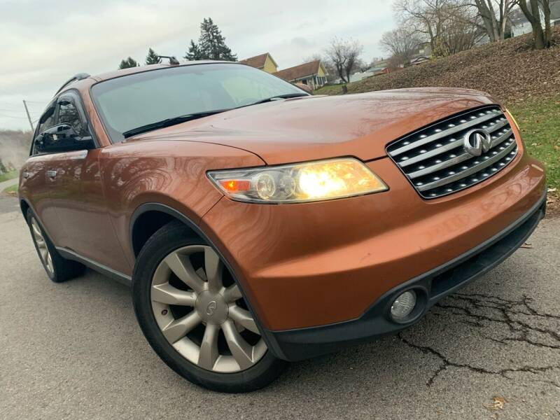 2003 Infiniti FX45 for sale at Trocci's Auto Sales in West Pittsburg PA