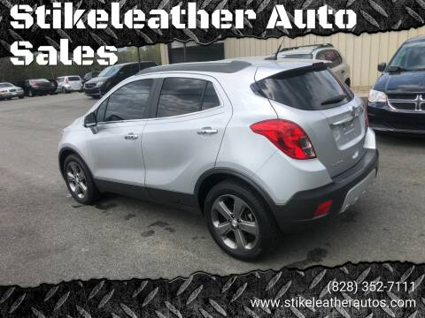 2014 Buick Encore for sale at Stikeleather Auto Sales in Taylorsville NC