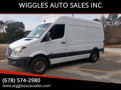 2008 Freightliner Sprinter Cargo for sale at WIGGLES AUTO SALES INC in Mableton GA
