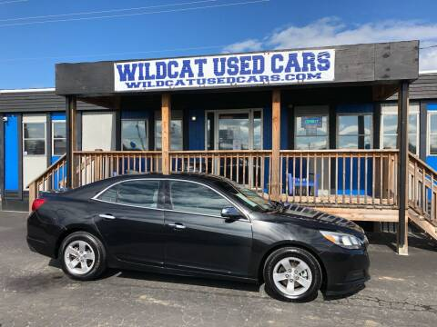 2015 Chevrolet Malibu for sale at Wildcat Used Cars in Somerset KY