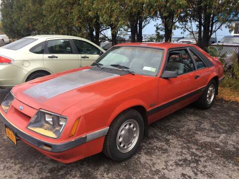 1986 Ford Mustang for sale at Ogden Auto Sales LLC in Spencerport NY