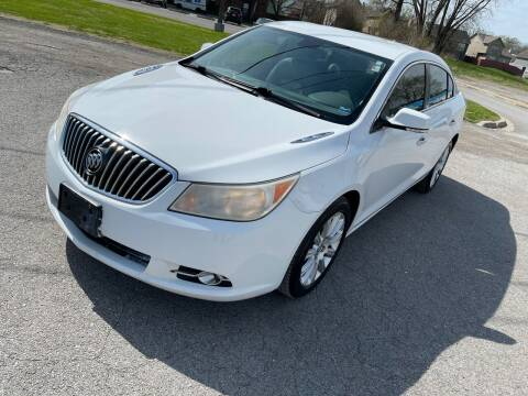 2013 Buick LaCrosse for sale at Supreme Auto Gallery LLC in Kansas City MO