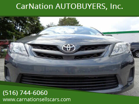 2012 Toyota Corolla for sale at CarNation AUTOBUYERS, Inc. in Rockville Centre NY