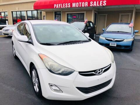 2013 Hyundai Elantra for sale at Payless Motor Sales LLC in Burlington NC