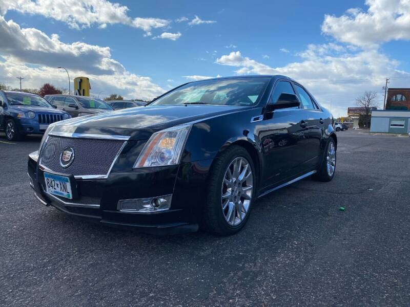 2011 Cadillac CTS for sale at Auto Tech Car Sales and Leasing in Saint Paul MN