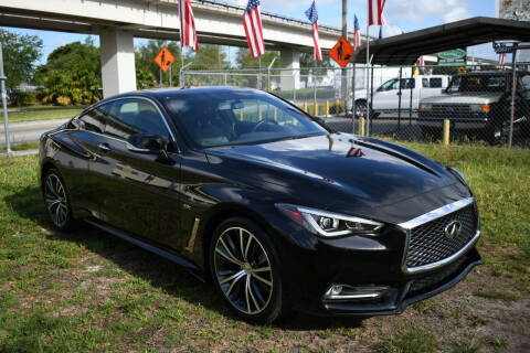 2018 Infiniti Q60 for sale at STS Automotive - Miami, FL in Miami FL