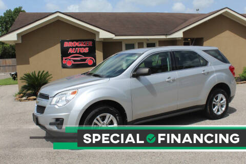 2012 Chevrolet Equinox for sale at Brocker Autos in Humble TX
