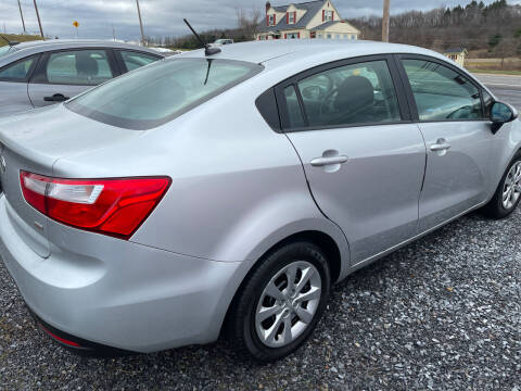 2012 Kia Rio for sale at CESSNA MOTORS INC in Bedford PA