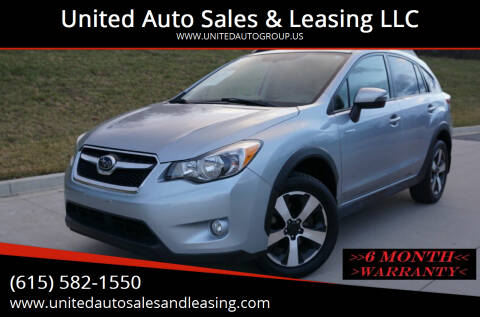 2015 Subaru XV Crosstrek for sale at United Auto Sales & Leasing LLC in La Vergne TN
